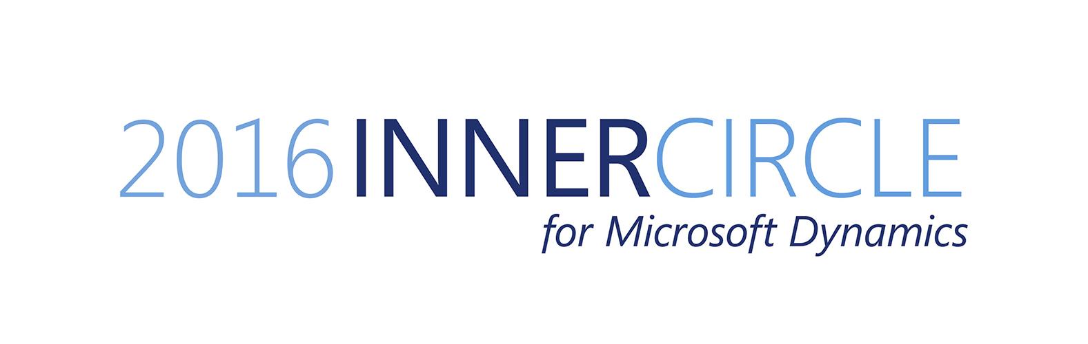 2016 innercircle for Microsoft Dynamics