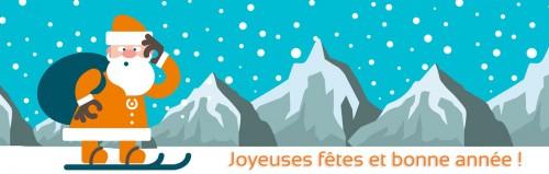 Joyeuses fêtes et bonne année avec Isatech