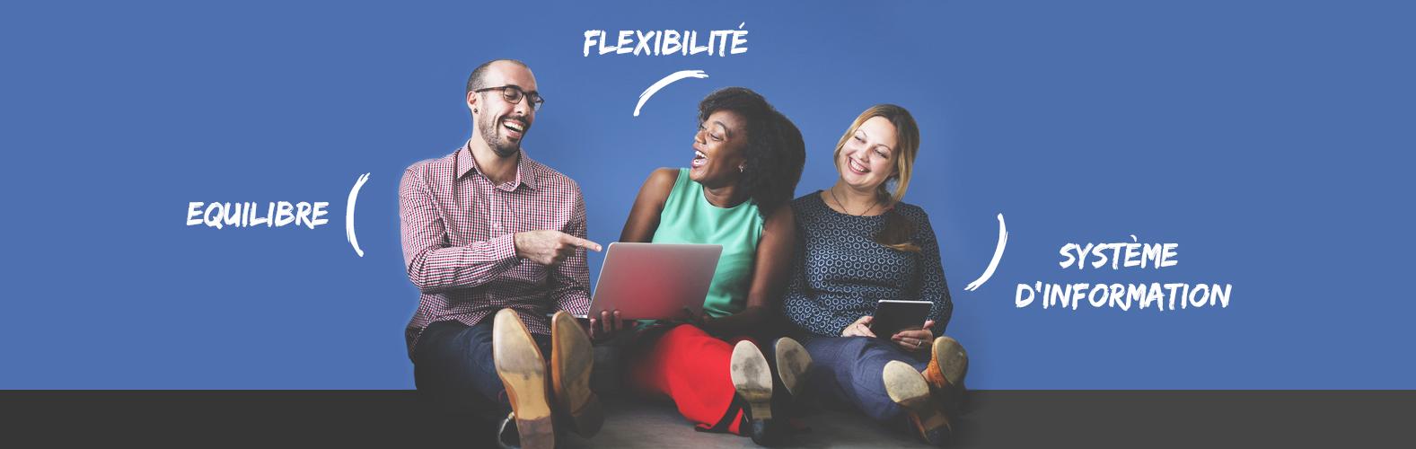 Les 3 meilleurs amis de votre chaîne logistique : équilibre, flexibilité et SI en béton
