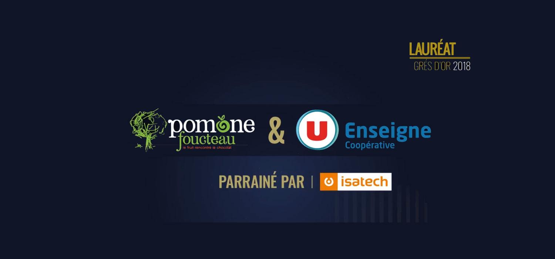 Grés d'Or 2018 : Pomone Foucteau & Système U récompensés