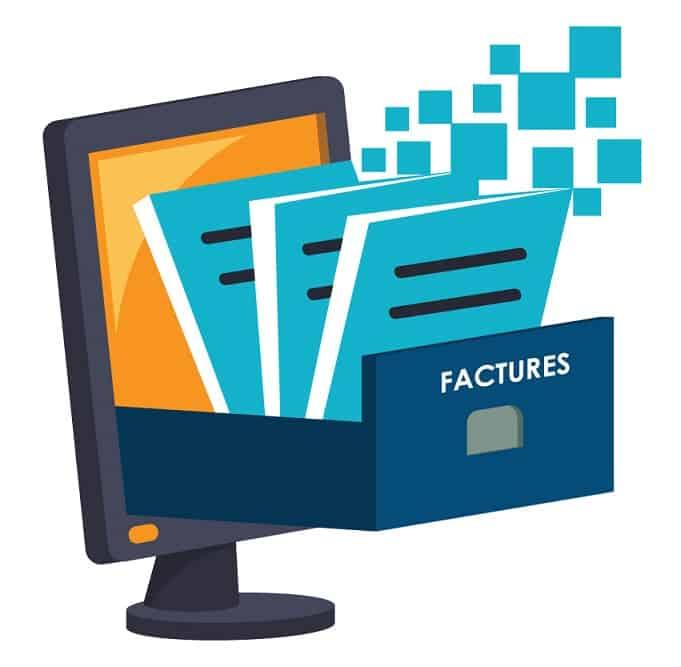 processus dematerialisation facture fournisseur