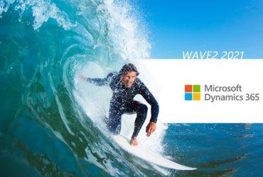 Mise a jour microsoft dynamics 365 wave